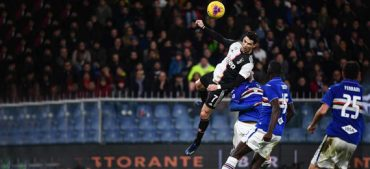 Cristiano Ronaldo's Headed Goal against Sampdoria!
