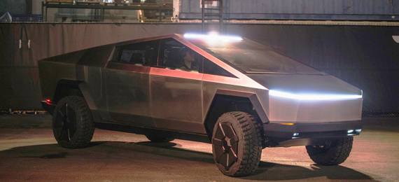 Tesla's First Electric Pickup Truck Unveiled