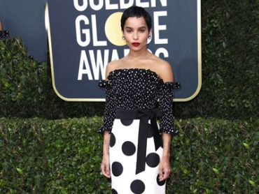 Zoe Kravitz Golden Globes 2020