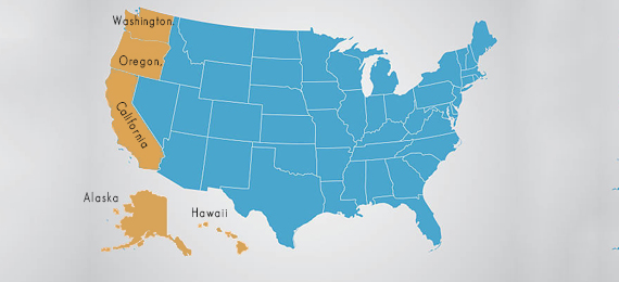 How Many U.S. States Border the Pacific Ocean?