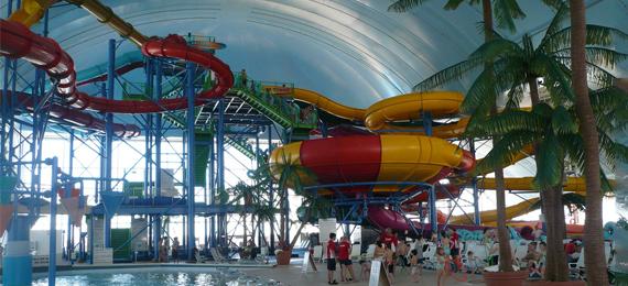 What Is the Biggest Indoor Water Park in the U.S