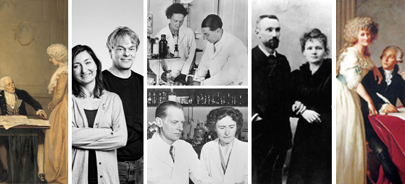 Science Pairs United by Love and Devoted to Science