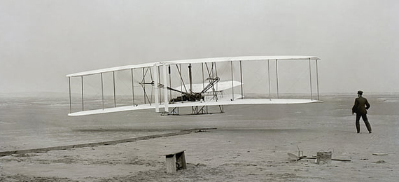 In Which City Did the Wright Brothers Test Their Flying Machine?
