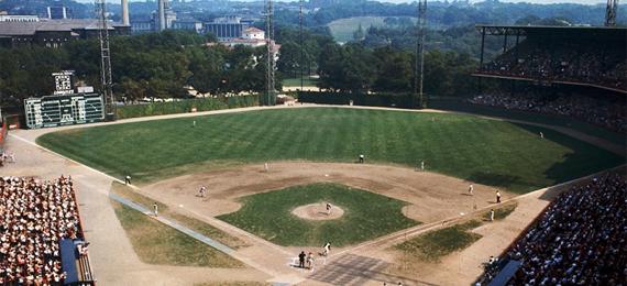 Where Was the First Baseball Stadium Built?