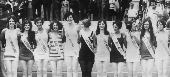 Where was the first Miss America pageant held?