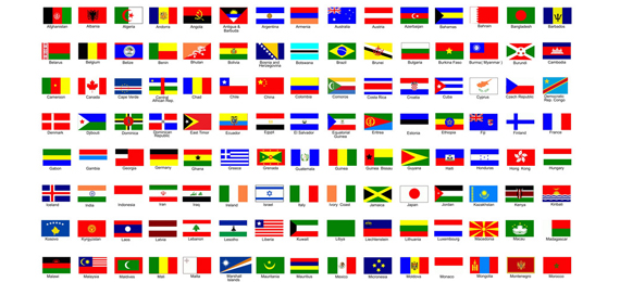Which Colour Is Found on 75% of the World's Flags?