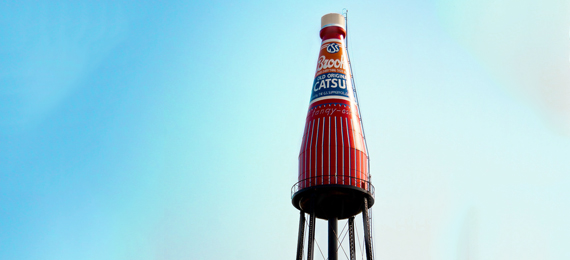 Interesting Facts about the World's Largest Catsup Bottle