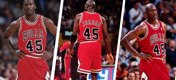 Why Did Michael Jordan Wear 45