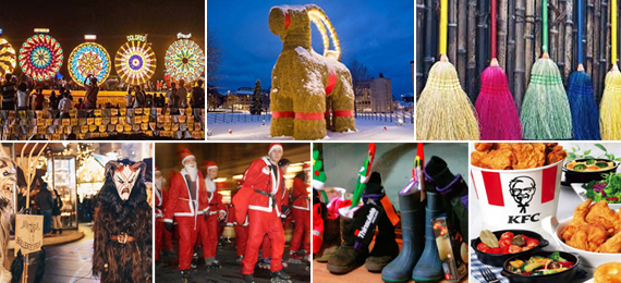 Astonishing International Christmas Traditions around the World