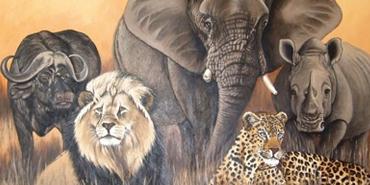 A Big Five Safari in Africa