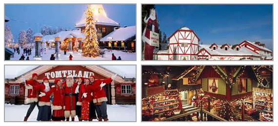 Do You Know Where Is Santa Claus Village?