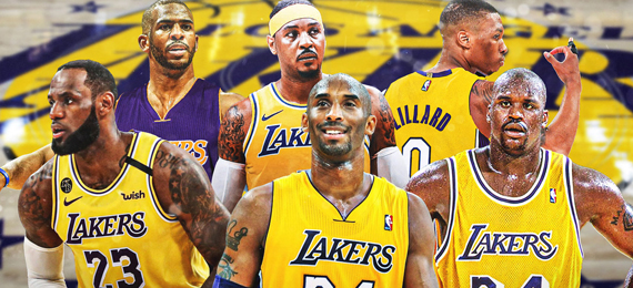 Guess the Names of the Los Angeles Lakers Players Using Our Clues