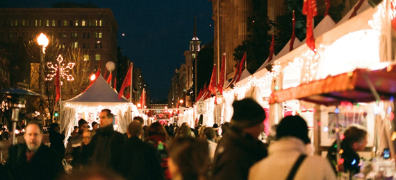 Everything You Need to Know about DC's Downtown Holiday Market