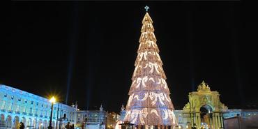 Lisbon Christmas Tree, Lisbon, Portugal