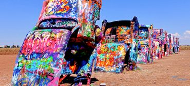Quiz Questions on Cadillac Ranch