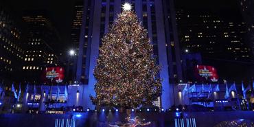 Rockefeller Center Christmas Tree, New York, USA