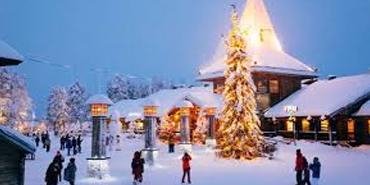 Santa Claus Village, Finland
