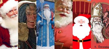 Who Are the Iconic Gift Bringing Santas around the World?