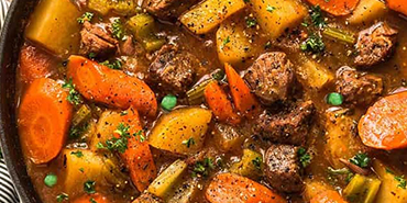 Warm Stews and Soups