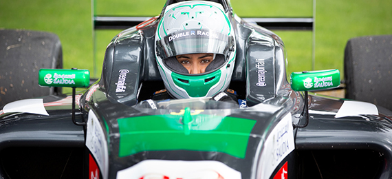 Female Auto Racing Driver