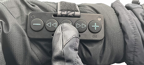 Chubby Buttons Bluetooth Remote