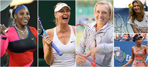 female tennis players