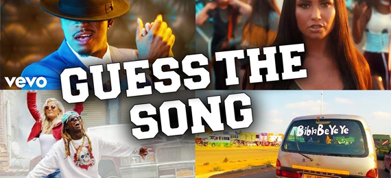 Can You Guess the Song by the Pictures? Take Our Quiz.