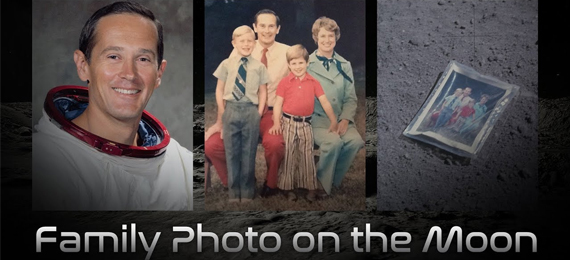 Family Photo on the Moon