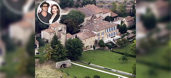 Brad Pitt and Angelina Jolie House