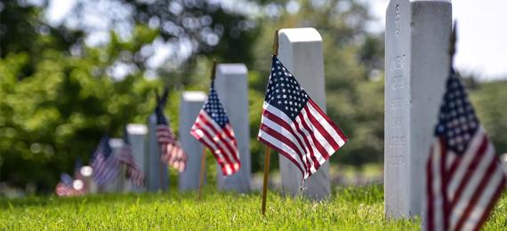 Arlington Cemetery Flags 101