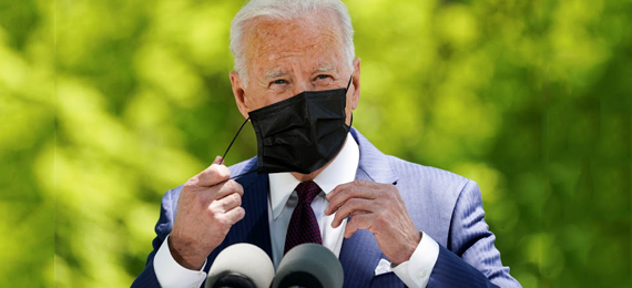 Biden Updates Outdoor Mask Guidelines