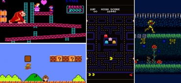 Can You Guess These Old School Video Games?