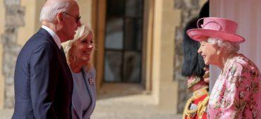 Queen Meets Joe Biden at Windsor Castle for Tea