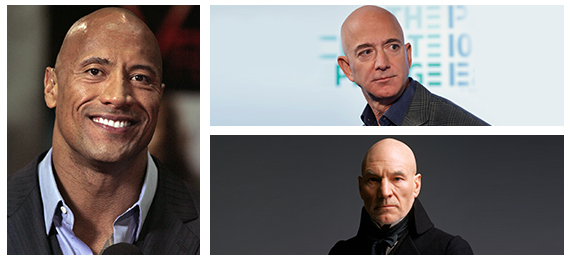 Can You Guess These Famous Hollywood Bald Men?