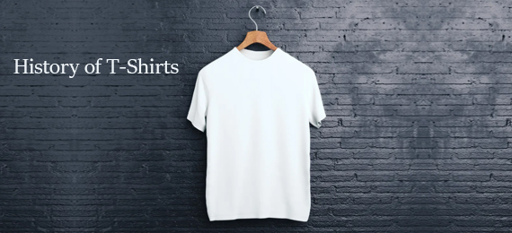 Everything You Need to Know about the History of T-Shirts