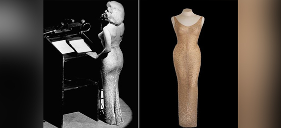 Marilyn Monroe's Rhinestone Dress
