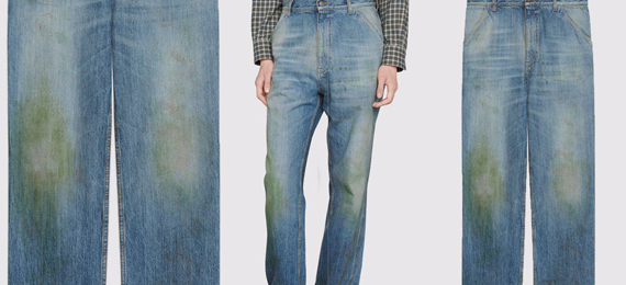 Unknown Facts about Gucci's Grass-Stained Jeans