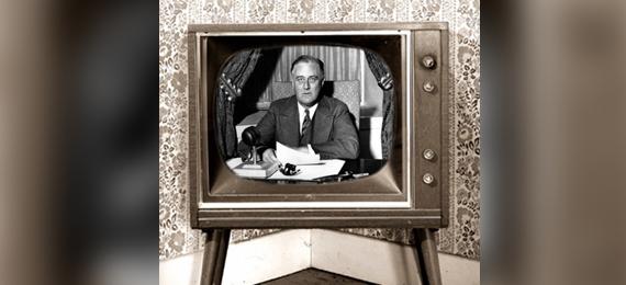 Franklin-Delano-Roosevelt-on-Television