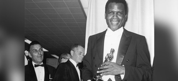The First African American to win a Best Actor Academy Award