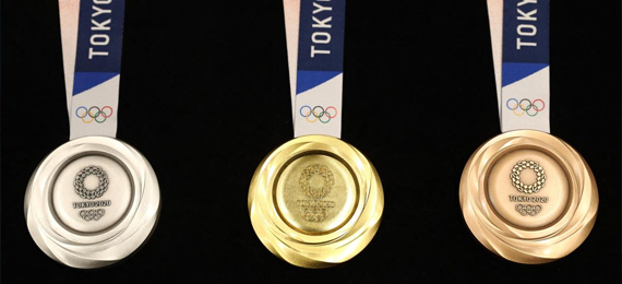 What-Olympic-medals-are-made-of