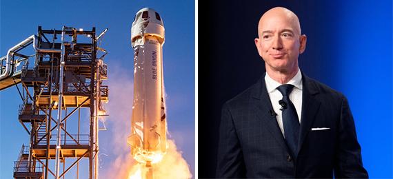 Jeff-Bezos's-trip-to-space