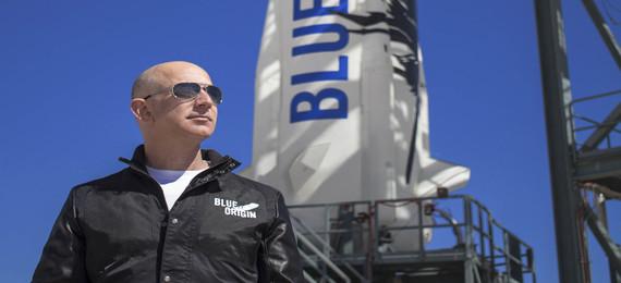 Jeff Bezos's Blue Origin Spacecraft