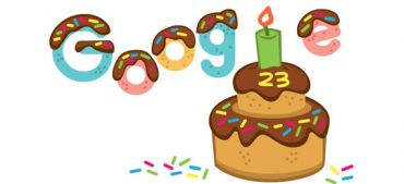 Google Celebrates Its 23rd Birthday with a Special Doodle