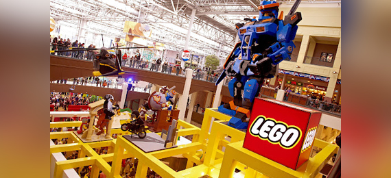 The Mall of America & LEGOLAND Minnesota