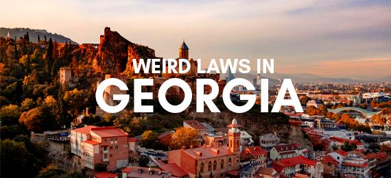 weird Georgia laws