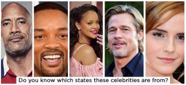 Can You Identify Which States These Celebrities Are From?