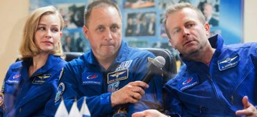 Russian Film Crew Took off to Shoot The Challenge-Space Movie