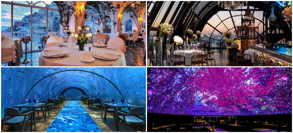 The Most Beautiful Restaurants in the World For Every Occasion