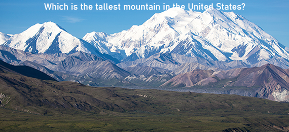 Which Is the Tallest Mountain in the United States?